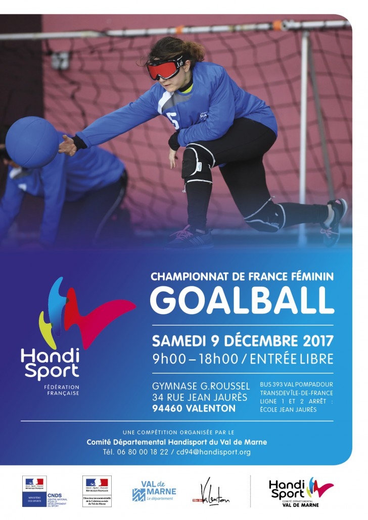 Goalball Chpt France 2017 CDH94_A4