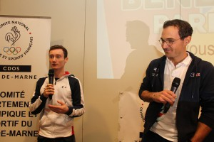 Benjamin Auffret et Antoine Jesel